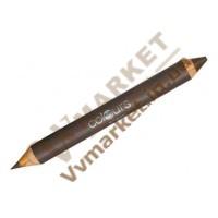 """Двусторонний карандаш для бровей """"Коричневый кашемир"""", 4.9гх1.3г, LR Colours"""