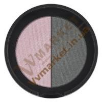 """Двухцветные минеральные тени для век """"Роза и Графит"""", 2х1.25г, LR Colours"""