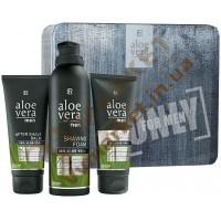 Набор Aloe Vera Men для бритья, мужской, подарочный