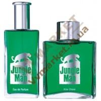 Jungle Man Парфюмированная вода и лосьон после бритья, набор для мужчин, LR