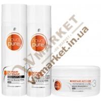 Набор для  поврежденных волос Нова Пьюр (Nova Purе Repair Intense Set), LR