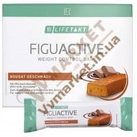 Диетичный батончик ФигуАктив (FiguActive) со вкусом нуги, 6x60г