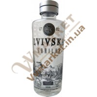 """Горілка """"Львівська горілка. Lvivska gorilka"""" 0,5л."""