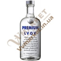 """Горілка """"Premium Lvov"""" (Преміум Львів українська оригінальна) 0,7л. ЛьвівЛГЗ"""