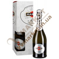 Игристое вино Мартини Асти (Martini Asti) подарочное 0.75л