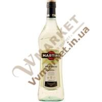 Вино Вермут Мартіні Б'янко (Martini Bianco), біле, 15%  1.0л,  Iталiя