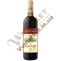 Вино Масандра Алеатіко сухе, червоне сортове 0,75