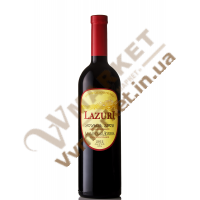 Вино Алазанська Долина Lazuri черв., н/сол., 0.75л Грузія