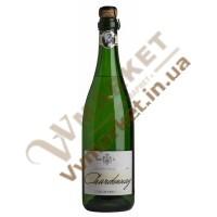 Шампанське Chardonney «Новый Свет» бiле экстра брют, 0.75л