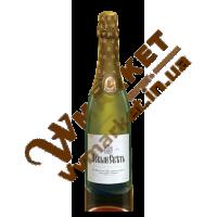 Вино ігристе Новосвітське біле, н/сухе, 0,75л