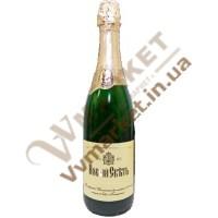 Вино ігристе Новий Світ біле, н/сол, 0,75л
