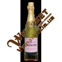 Вино ігристе Новосвітське рожеве, н/сухе, 0,75л