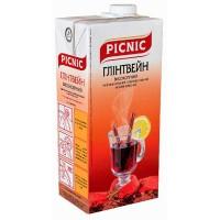 Вино Глінтвейн високогірний Picnic, черв, прянощі, 1л