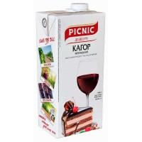 Вино Кагор український Picnic, черв, дес, 1л