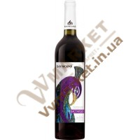 Вино Бахчисарай Бастардо, полусладкое красное, 0.75л