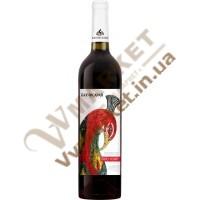 Вино Бахчисарай Пино Нуар, полусладкое красное, 0.75л