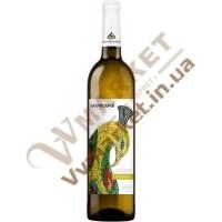 Вино Бахчисарай Тамьянка белое полусладкое, 0.75л