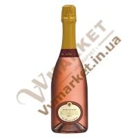 Вино ігристе Rose di Pinot  рожеве брют Ruggeri 0.75л