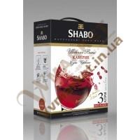 Вино (Шабо) Каберне BAG&BOX червоне, сухе, 3л.