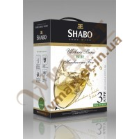 Вино (Шабо) BAG&BOX біле, н/сол., 3л.