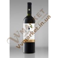 Вино (ШКласіка) Мерло червоне сухе 0,75л Шабо