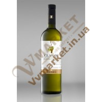 Вино (ШКласіка) Шабо біле напівсухе 0,75л Шабо