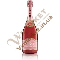 Шампанське акратофорне (Шабо) рожеве, н/сухе, 0,7л.