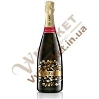 Вино ігристе (Шабо Класік) Брют червоне витримане 0.75л