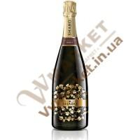 Вино ігристе (Шабо Класік) Брют біле витримане 0,75л