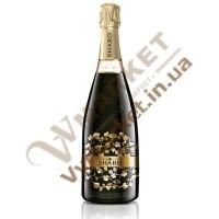 Вино ігристе (Шабо Класік) extra Брют біле витримане 0,75л