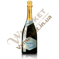 Шампанське Шабо Charmat біле, н/сухе, резервуарне, 0.75л