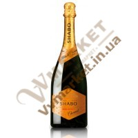 Шампанське Шабо Charmat біле, н/сол, резервуарне, 0.75л