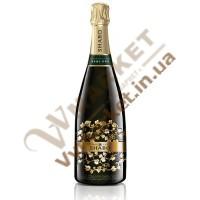 Вино ігристе (Шабо Класік) напівсухе біле витр 0,75л