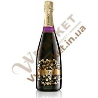 Вино ігристе (Шабо Класік) напівсолодке біле витр 0,75л