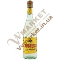 Вино ігристе Сізаріні Ламбруско (Sizarini Lambrusco) біле н.сол, 0.75л, Італія