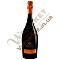 Вино ігристе Сізаріні Просекко (Sizarini Prosecco) біле сухе, 0.75л, Італія