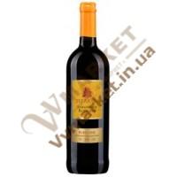 Вино Сізаріні Санджовезе Рубиконе (Sizarini Sangiovese Rubicone) червоне сухе, 0.75л, Італія