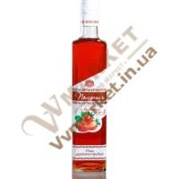 """Вермут особливий """"Полуниця з коньяком"""" міцний рожевий 20% 0.5л, Горобина"""