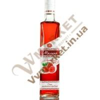 """Вермут особливий """"Малина з коньяком"""" міцний рожевий 20% 0.5л, Горобина"""