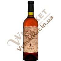 Вино Портвейн Кримський Сонячна Долина біле  0,75л
