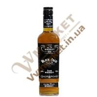 """Віскі """"Black Jack"""" 40%, 0,5л. СКЗ"""