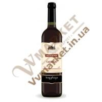 """Вино Саперави  """"Алаверди"""", красное полусладкое, 0.75л"""