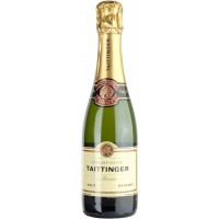 Шампанское Champagne Taittinger белое Brut Reserve, 0.375л