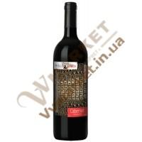 Вино Touch Wild Africa Каберне, черв, сухе, 0.75л