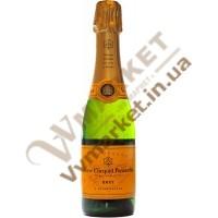 Шампанское Вивье Клико (Veuve Clicquot) брют белое, 0.375л, Франция