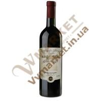 """Вино Алазанская долина """"Заря Кахетии"""", красное  полусладкое, 0.75л"""