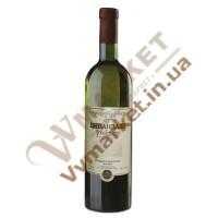 """Вино Цинандали """"Заря Кахетии"""", белое сухое, 0.75л"""