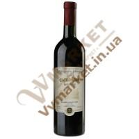 """Вино Саперави """"Заря Кахетии"""", красное  сухое, 0.75л"""