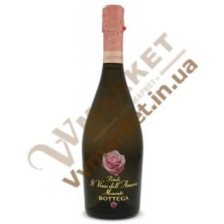 Вино игристое Bottega Petalo Il Vino dell'Amore Moscato белое сладкое, 0.75л с доставкой вся Украина
