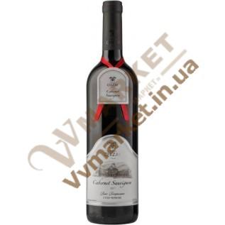 Вино Каберне Савиньон (Cabernet Sauvingnon) выдержанное красное сухое, 0.75л Чизай с доставкой вся Украина